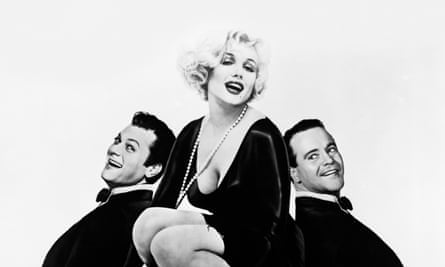 Small comforts in desperate times: Jack Lemmon, right, in Some Like it Hot.