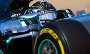 Rosberg hindered by a a puncture.