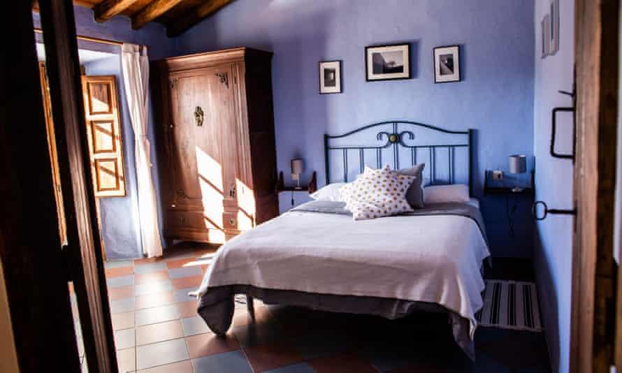 One of Salto de Caballo's bedrooms.
