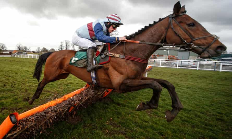 Maxime Tissier, seen here riding Phoeniciana at Towcester in 2018, did not believe he was in breach of the rules.
