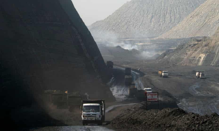The Gevra coal mine in India.
