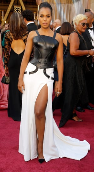 Kerry Washington. We didn't know there was going to be another Matrix film, but presumably this explains Kerry Washington's warrior queen ensemble. Hopefully she'll take the blue pill and the dress will change...