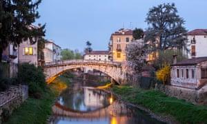 Ponte San Michele in Vicenza, Veneto Italy