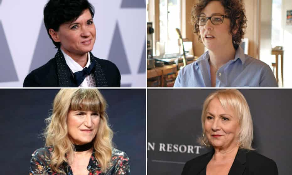 Back from the Twilight zone … (clockwise from top left) Kimberly Peirce, Lisa Cholodenko, Mimi Leder and Catherine Hardwicke.