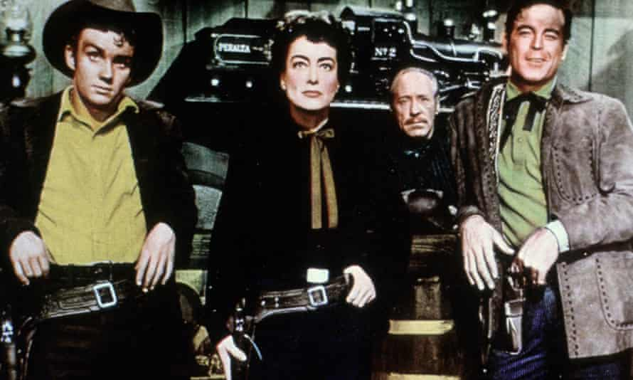 Everything as if happening in a vivid dream … a scene from Johnny Guitar