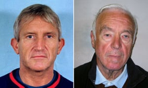 Kenneth Noye, left, and Brian Reader