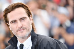 Joaquin Phoenix attends the You Were Never Really Here photocall