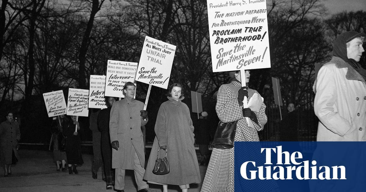 Virginia governor pardons seven Black men executed in 1951 for rape of a white woman