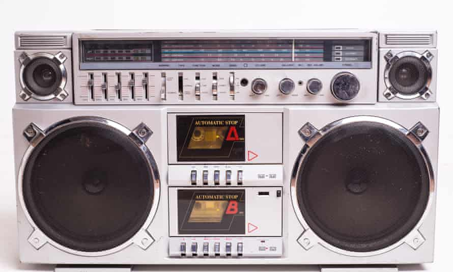 Boomboxes facilitated the recording of radio broadcasts and from one cassette deck to another, to create mix tapes.