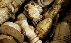 Confiscated ivory items to be crushed