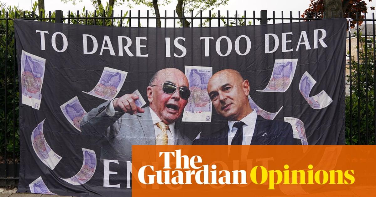 Daniel Levy the common denominator in Tottenham's endless managerial farce