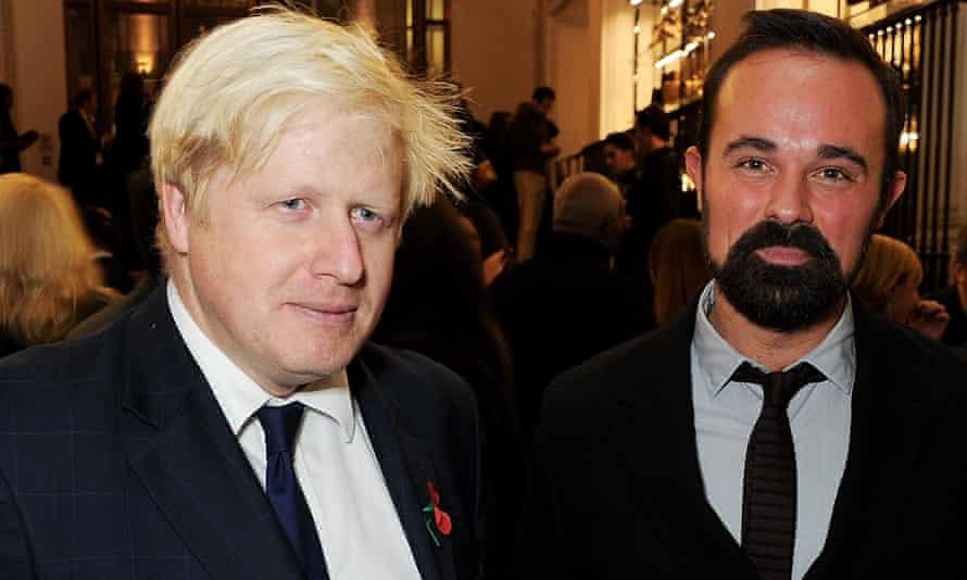 Boris Johnson and Evgeny Lebedev