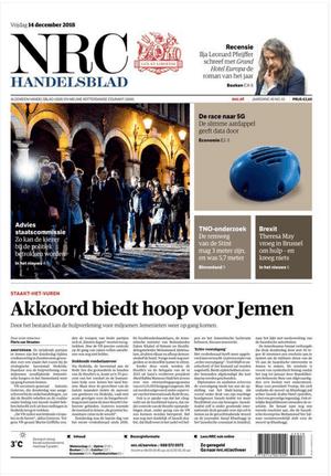 NRC Handelsblad front page