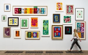 Innovation … Henri Matisse's Cut-Outs on show at Tate Modern.