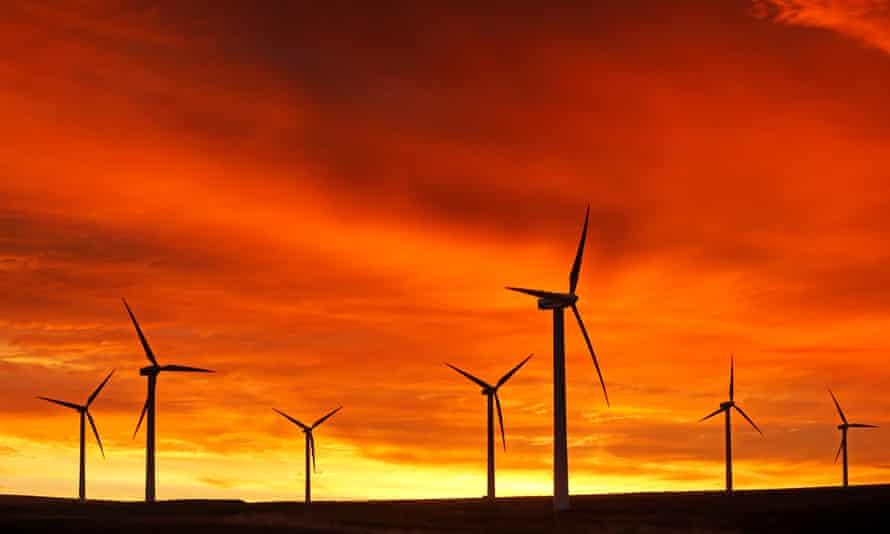 Dunlaw windfarm in the Scottish Borders