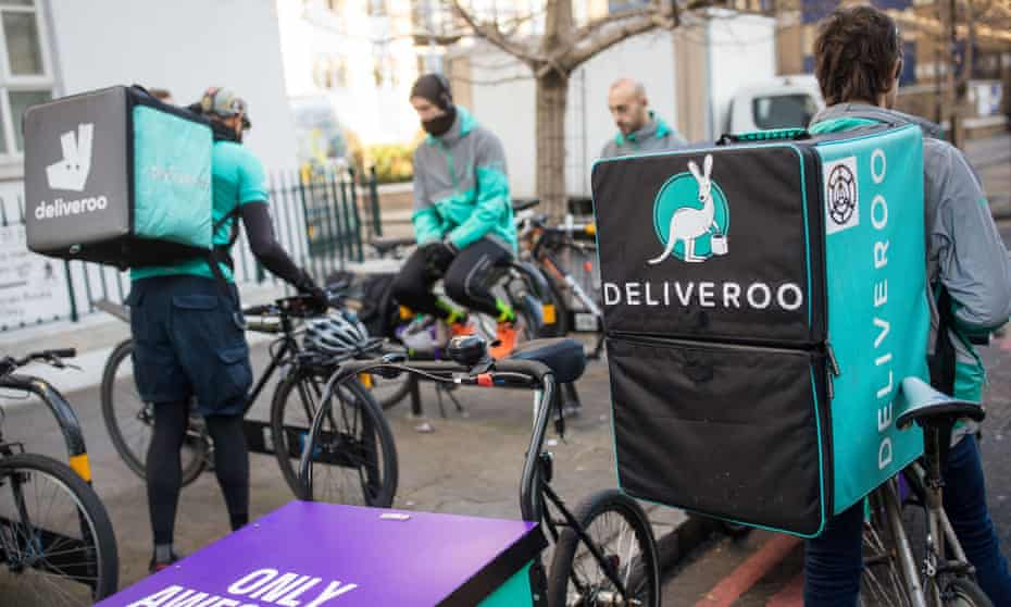 People currently defined as self-employed by firms like Deliveroo or Uber could soon be entitled to worker protection