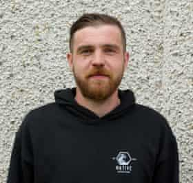 Steáfan McCarry, head chef and co-founder of Native Seafood & Scran
