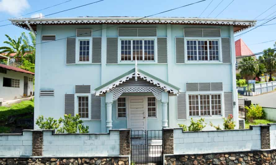 Great in macrocosm, the novel is also flawless in microcosm … a house in Trinidad.