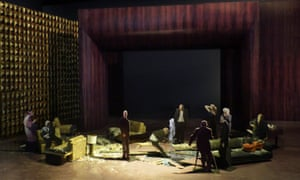 A model of the set design for The Exterminating Angel