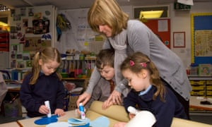 A teaching assistant in Haslemere, Surrey