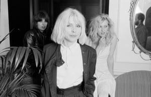 Blondie with Chrissie Hynde and Viv Albertine London 1980