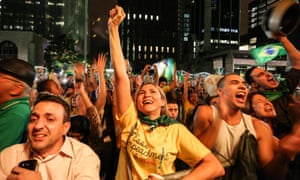 Demonstrators protest against the appointment of the former president Luiz Inacio Lula da Silva as chief of staff