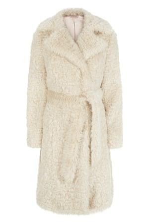 7 White faux fur, £59.99, newlook.com