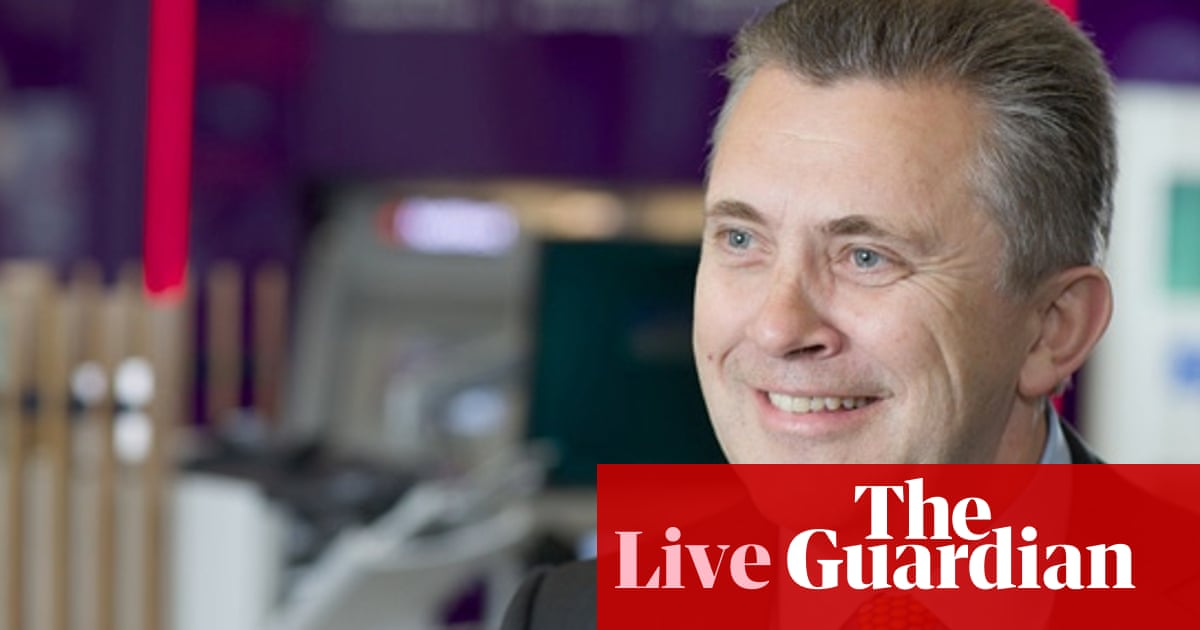NatWest banking chief executive Les Matheson – as it happened ...