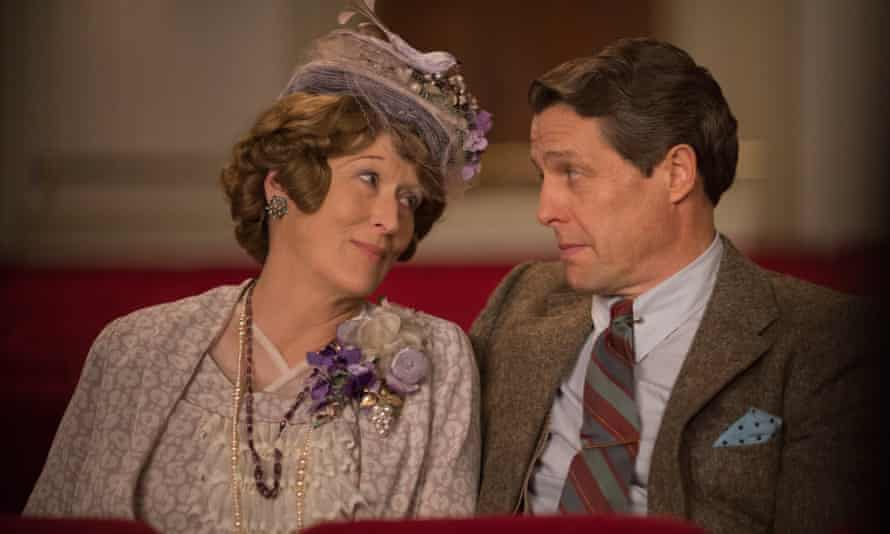 Meryl Streep and Hugh Grant in Florence Foster Jenkins.