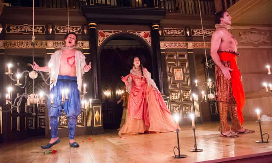 L'Ormindo at the Sam Wanamaker Playhouse in 2015.