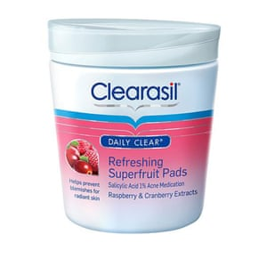 Clearasil Superfruits Refreshing Pads from Amazon