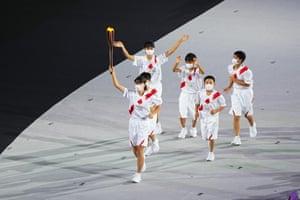 The Tokyo 2020 Olympics Opening Ceremony