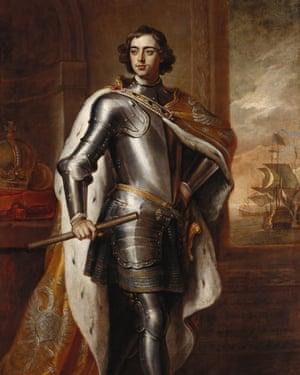 Sir Godfrey Kneller's Peter I, Tsar of Russia, 1698.