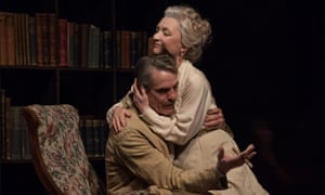 Outstanding … Lesley Manville and Jeremy Irons in Long Day's Journey into Night.