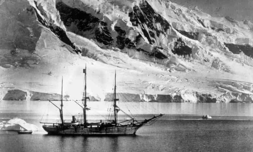 The Belgica Gerlache Strait 1898.