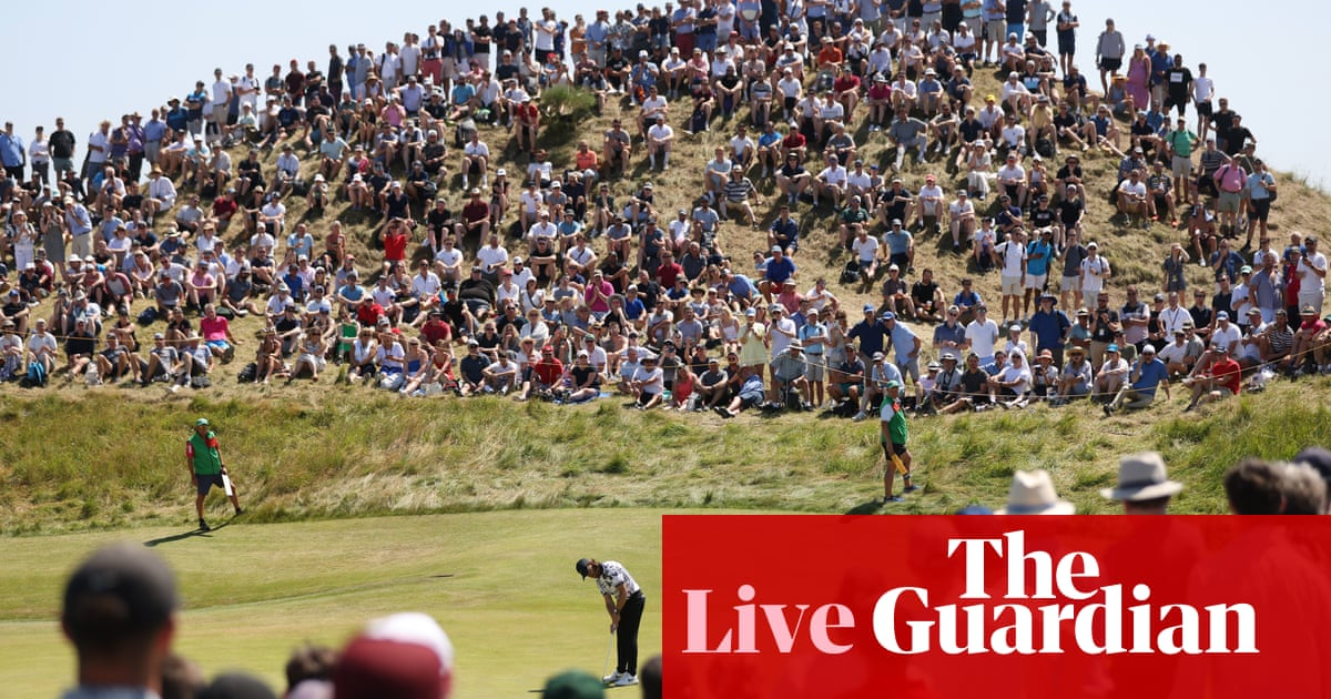 The Open 2021: final round – live!