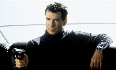 Pierce Brosnan's James Bond sports an Omega watch in Die Another Day (2002)