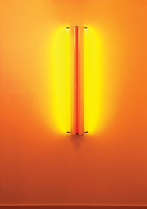 Dan Flavin, Three Fluorescent Tubes