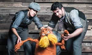 Dr Seuss's The Lorax at the Old Vic. Nonsense words used in Theodor Geisel's children's books were judged particularly funny.