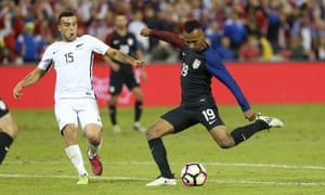 Julian Green said: 'It's my goal to always be here in this team, and when I'm here I want to give my best. And I think I did very well.'