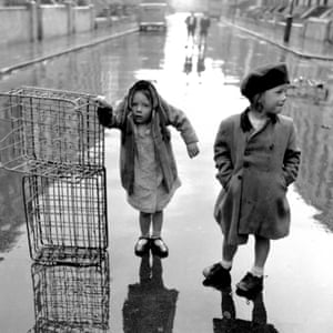 Orphans of the Storm, 1954. From a series Portobello - scenes of everyday life.