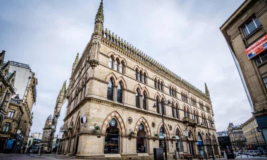 The Wool Exchange Building in Bradford.