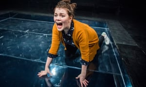 In the ring … Georgie Henley in Angry by Philip Ridley.