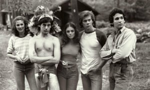 Laurie Bartram, Mark Nelson, Jeannine Taylor, Kevin Bacon and Harry Crosby in Friday The 13th