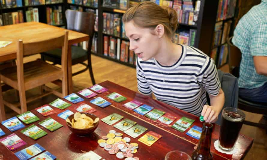 Cafe and bars, such as Thirsty Meeples in Oxford, now cater for people wanting to enjoy the social fun of tabletop games.