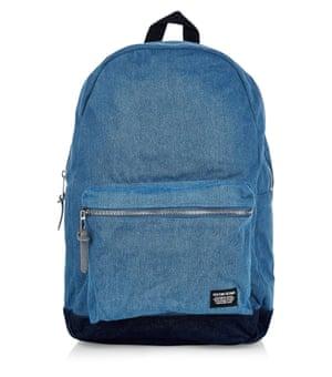 Denim rucksack
