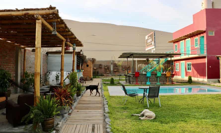 The Upcycled Hostel Huacachina, Peru