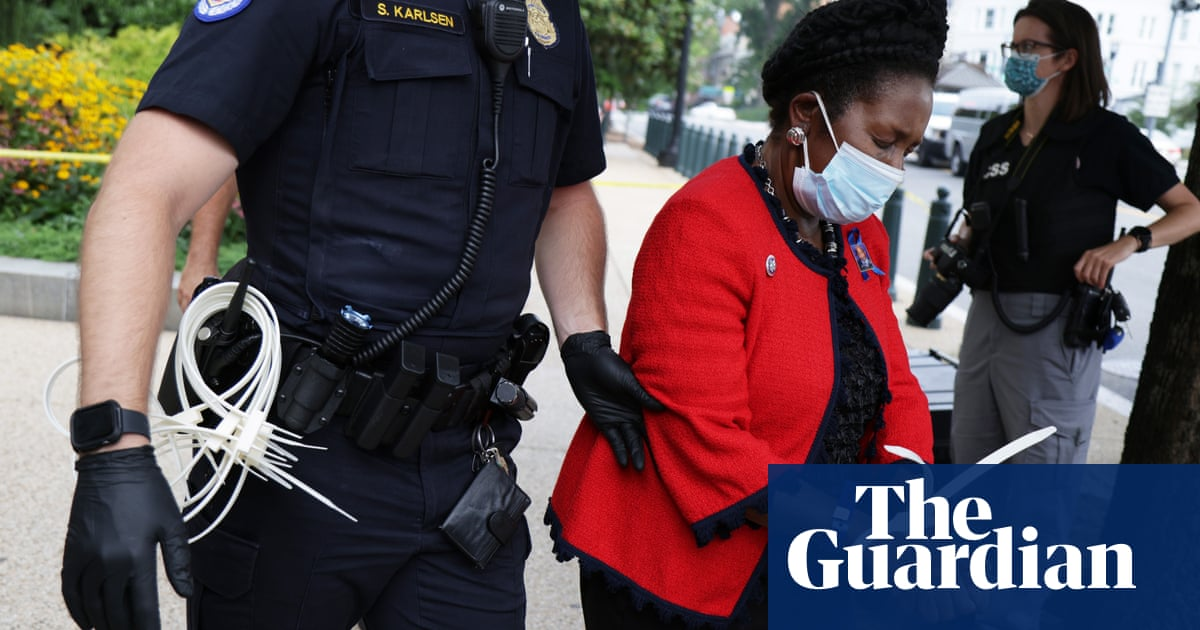 Sheila Jackson Lee is third Black lawmaker to be arrested during voting rights protests