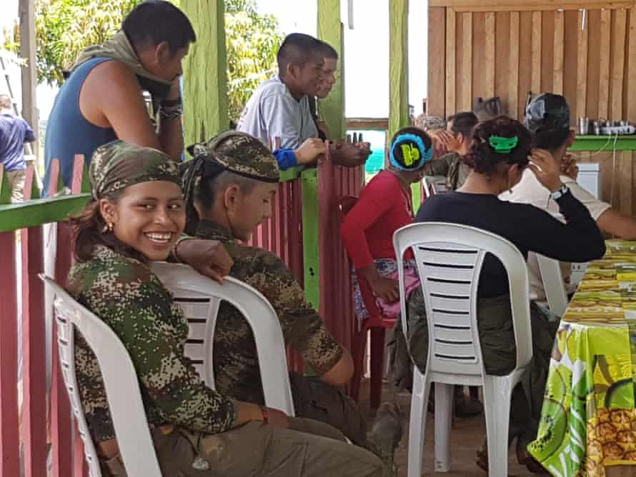 Camp Diamante is in a remote, rural area where the Farc take the place of the absent state.