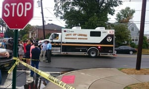 The scene in Linden, New Jersey, where Ahmad Khan Rahami was arrested.